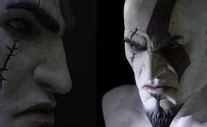 Edición limitada del busto de Kratos en God of War Ascension
