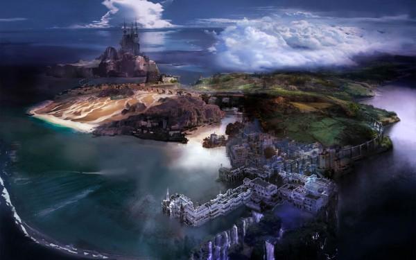 Lightning Returns: FFXIII mapa del Artbook