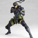 Figura de Snake de MGS: Peace Maker por Kaiyodo