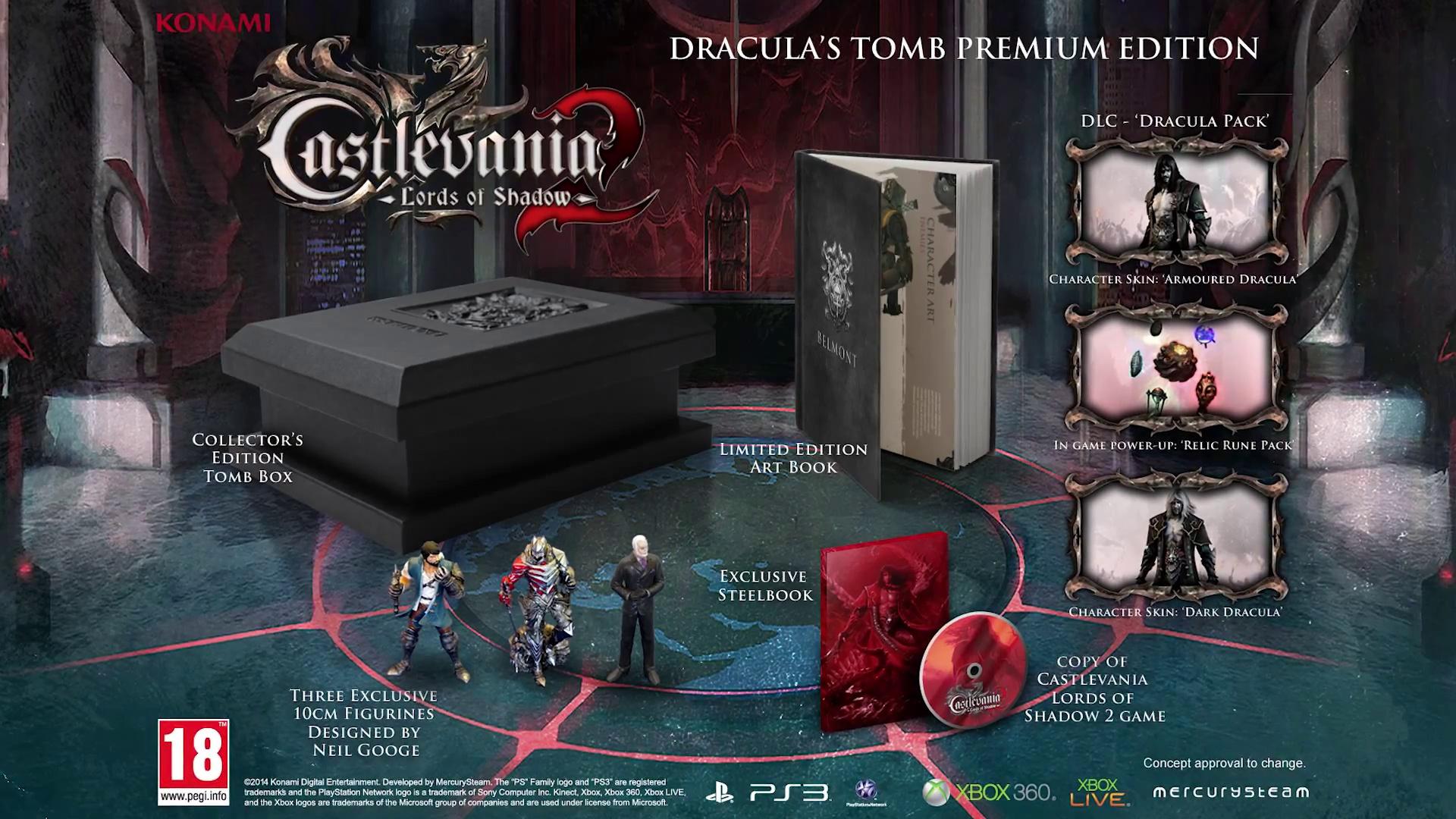 Edición Premium Tumba de Drácula
