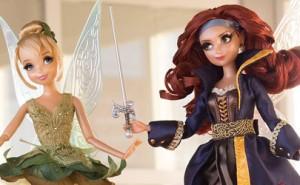 Figuras Edición Limitada de Campanilla y Zarina