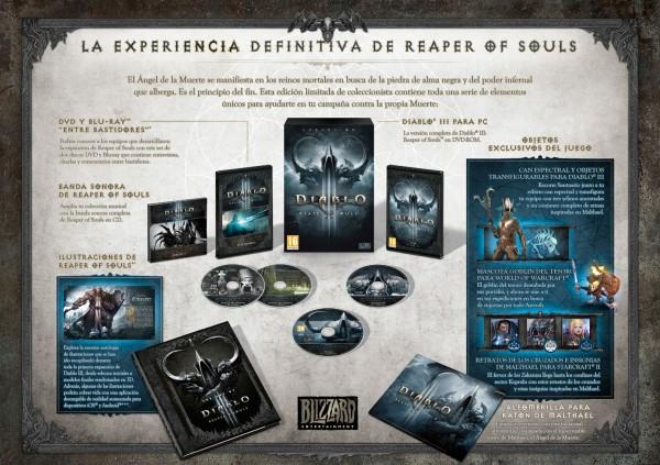 Diablo III Reapers of Souls Edición Coleccionista