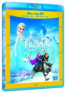 Frozen Combo Blu-ray 3D