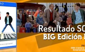 Resultado del Sorteo de la película BIG de Tom Hanks edición Bluray