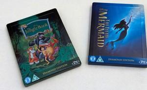 La Sirenita y El Libro de la Selva Steelbok Blu-ray