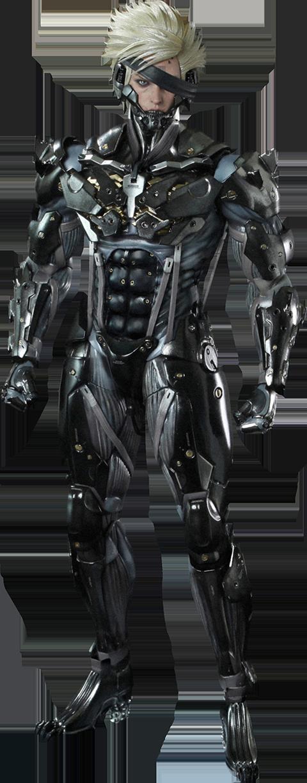 Raiden, de Metal Gear Rising