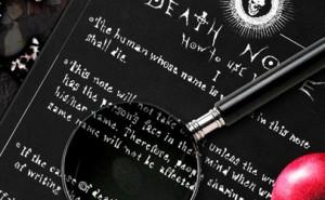Cuaderno de la muerte de Death Note