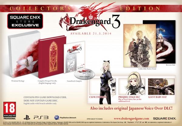 Drakengard 3 Edición Coleccionista