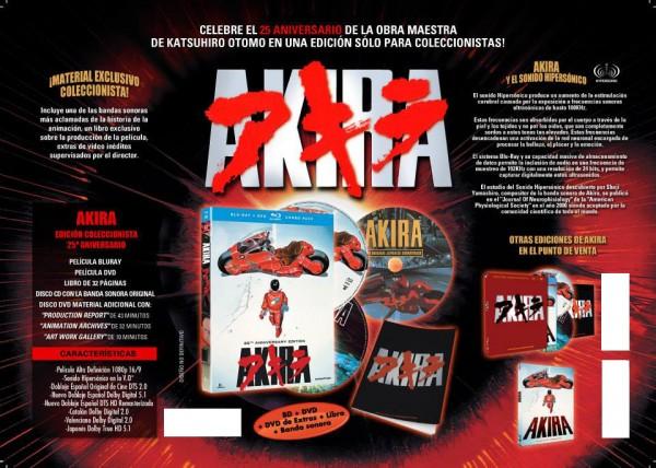 Edición coleccionista de Akira - 25 aniversario