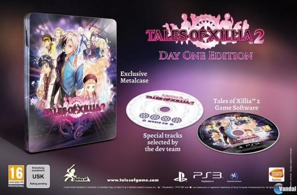 Edición lanzamiento de Tales of Xillia 2