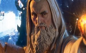 Edición limitada de la figura de Saruman de Sideshow