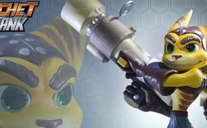 Figura Ratchet & Clank Gaming Heads