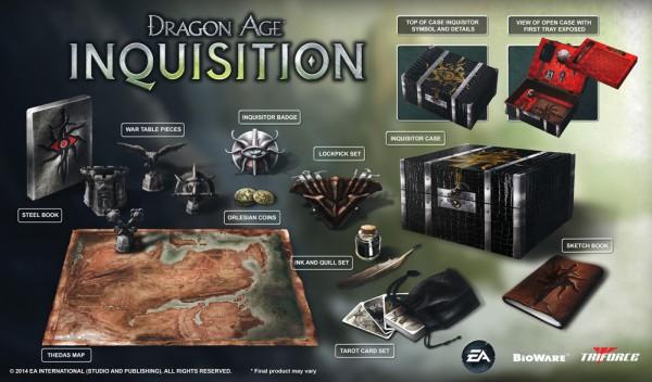Dragon Age Inquisition Edición Coleccionista