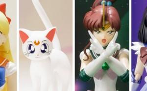Figuras de Sailor Venus, Jupiter y Saturn de SH Figuarts
