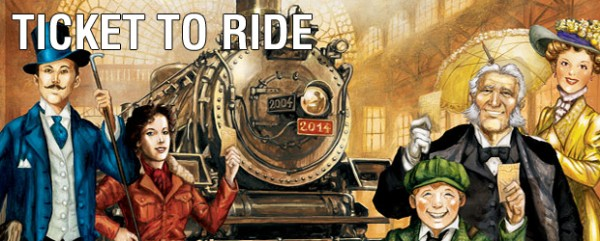 Juego de cartas - Ticket To Ride (Aventureros al Tren)