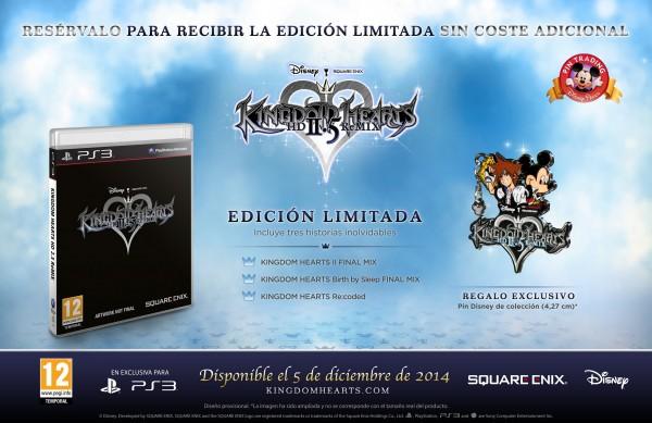 Kingdom Hearts 2.5 HD Remix Ed.Limitada