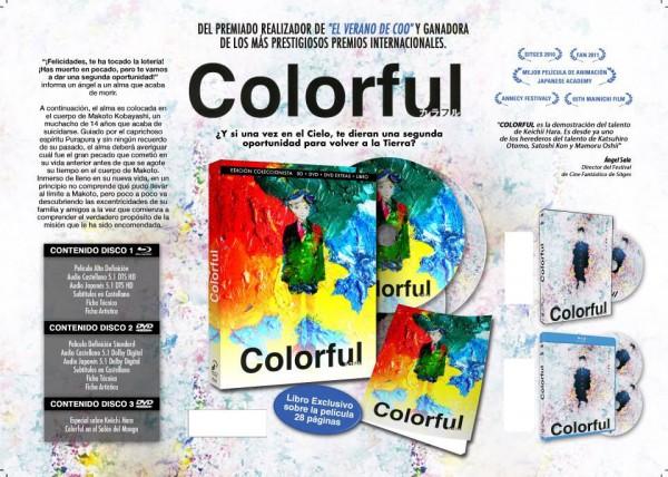 Edición coleccionista de Colorful en Blu-ray y DVD