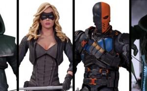 Figuras de Arrow (TV) de DC Collectibles y Riverspoons