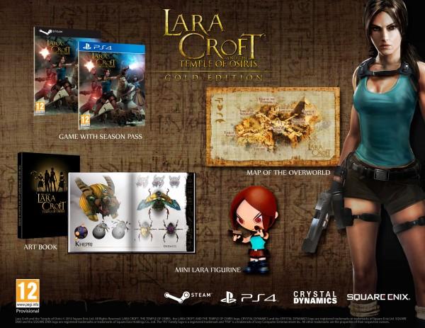 Lara Croft and the Temple of Osiris Edición Gold