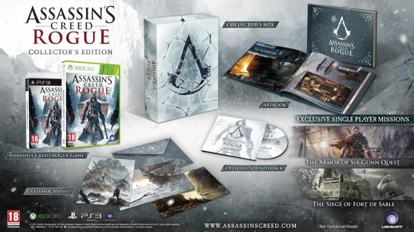 Assassin's Creed Rogue Edición Coleccionista