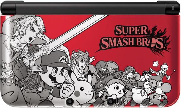 Nintendo 3DS XL Super Smash Bros Edición Limitada
