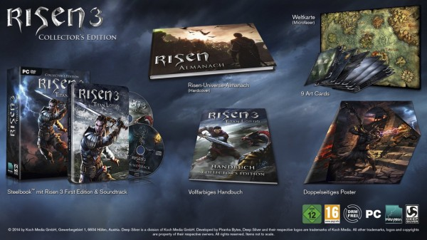 Risen 3 Edición Coleccionista