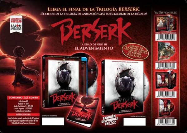 Edición Coleccionista Berserk La edad de oro 3
