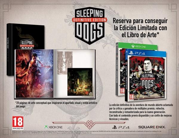 Contenido de la Edición Limitada de Sleeping Dogs