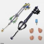 Distintas poses de Roxas y sus accesorios