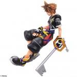 Distintas poses de Sora y sus accesorios