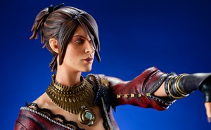 La bruja Morrigan, de Dragon Age Inquisition