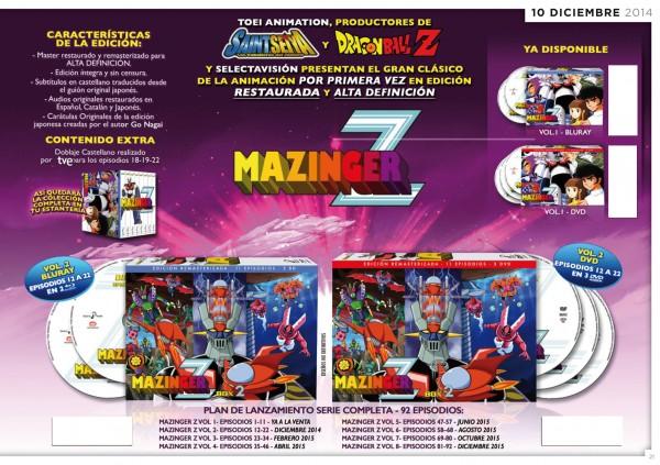 Edición restaurada Mazinger Z Box 2