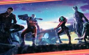 Los Guardianes de la Galaxia Edición metálica en Blu-ray