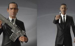 Los agentes K y J, protagonistas de MIB