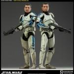 Figuras de Echo y Fives de Star Wars por Sideshow