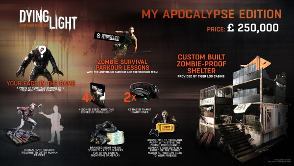 Edición My Apocalypse de Dying Light