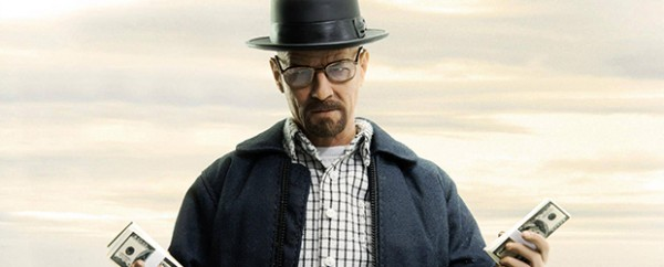 Walter White, alias Heisenberg, protagonista de Breaking Bad