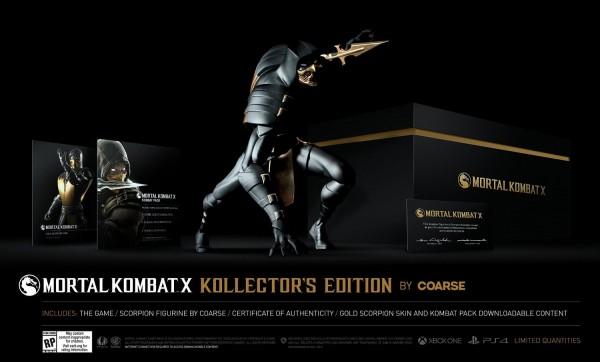 Edición Coleccionista de Mortal Kombat X por Coarse