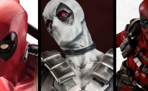 Figuras Deadpool de Sideshow y Kotobukiya