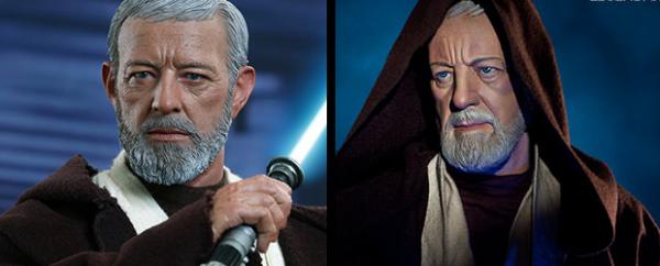 Figuras Obi-Wan (Star Wars) de Hot Toys/Sideshow