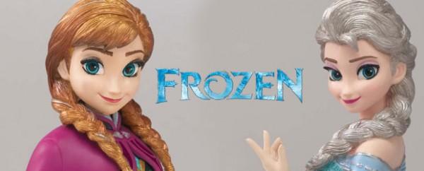 Figuras Ana y Elsa de Frozen