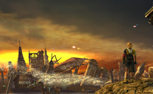 Screen de Final Fantasy X