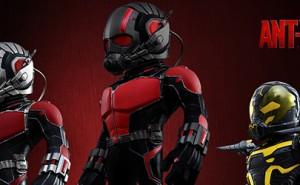 Set de Figuras de Ant-Man, por Hot Toys