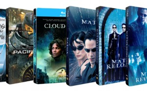 Steelbooks de Warner Bros para Julio