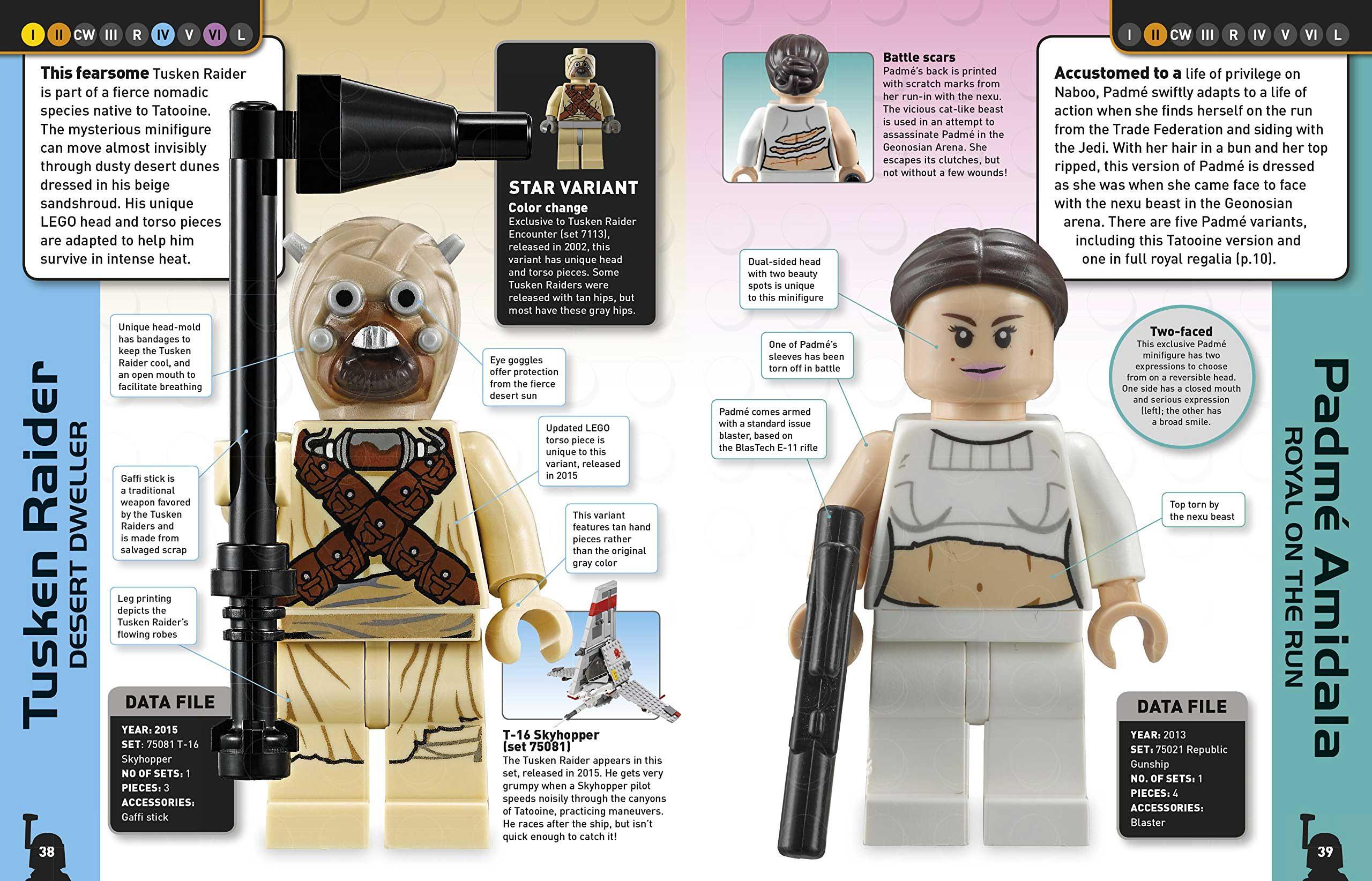Enciclopedia 2015 de LEGO Star Wars
