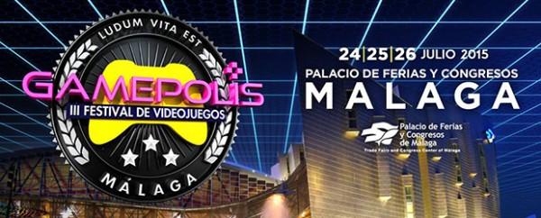 Gamepolis, 3er Festival del Videojuego de Málaga