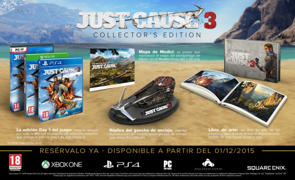 Just Cause 3 Edición Coleccionista