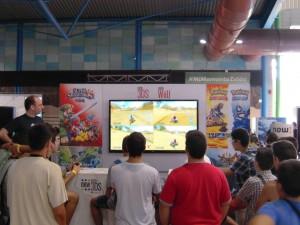Parte de la Zona Nintendo en Gamepolis
