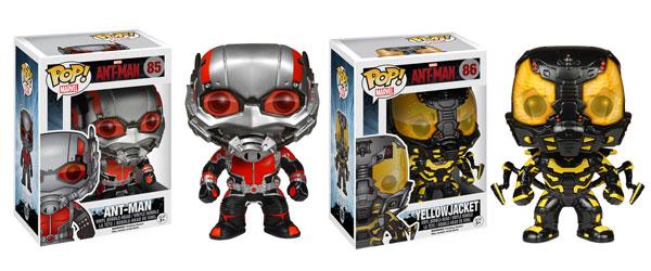 Ant-Man y YellowJacket Funko Vinyl Pop!