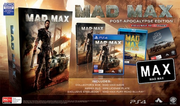 Edición Coleccionista Mad Max - El Videojuego